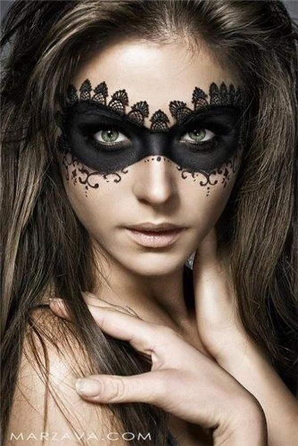 20 cool halloween eye makeup ideas hative. Black Bedroom Furniture Sets. Home Design Ideas