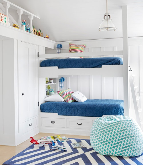 25 nautical bedding ideas for boys hative for Boys nautical bedroom ideas