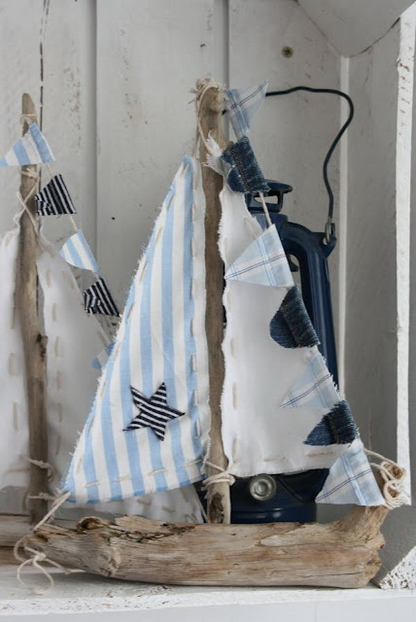 20 creative nautical home decorating ideas hative - Creative ideas home decor ...