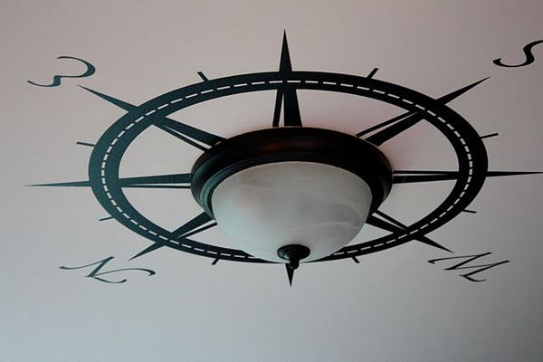 Nautical Bathroom Light Fixture: 20 Creative Nautical Home Decorating Ideas