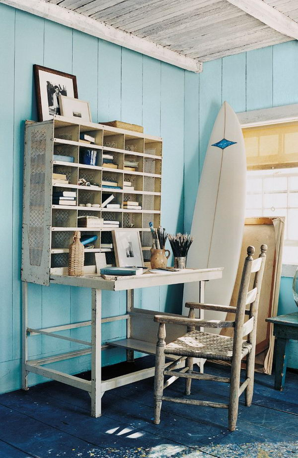Perfect Nautical Home Office