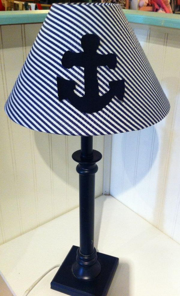 20 creative nautical home decorating ideas hative Home decorators lamp shades