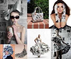 newspaper-craft-fashion-ideas-collage
