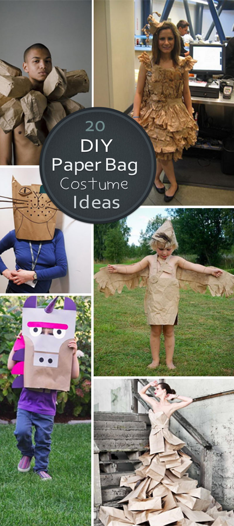 DIY Paper Bag Costume Ideas!