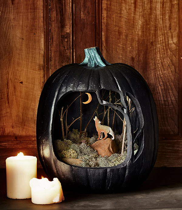 Howling Display Pumpkin.