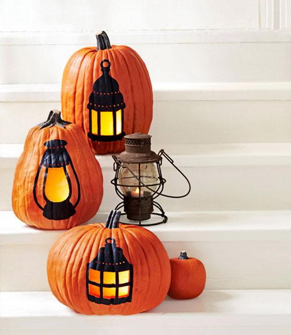 Lantern Pumpkins.