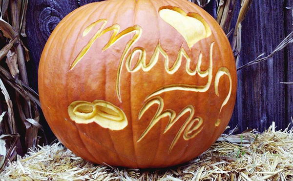 Marry Me Pumpkin.