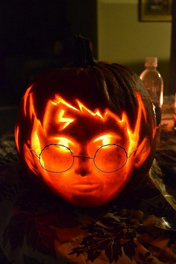 Harry Potter Pumpkin.