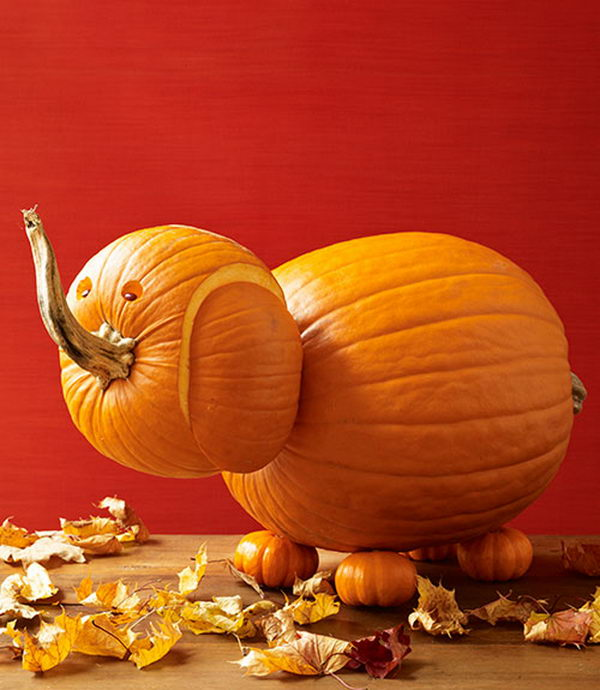 Small Family House: 40 Awesome Pumpkin Carving Ideas For Halloween Decorating
