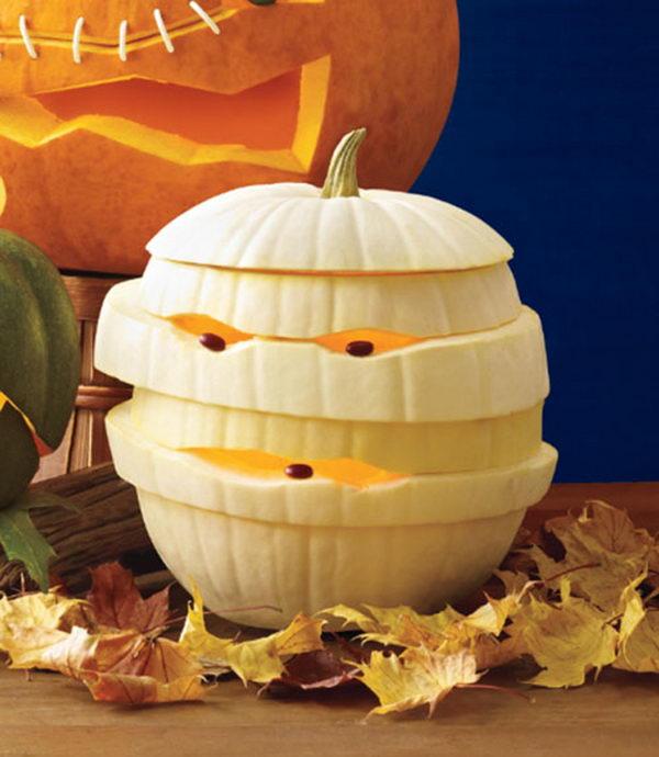 Mummy Pumpkin.