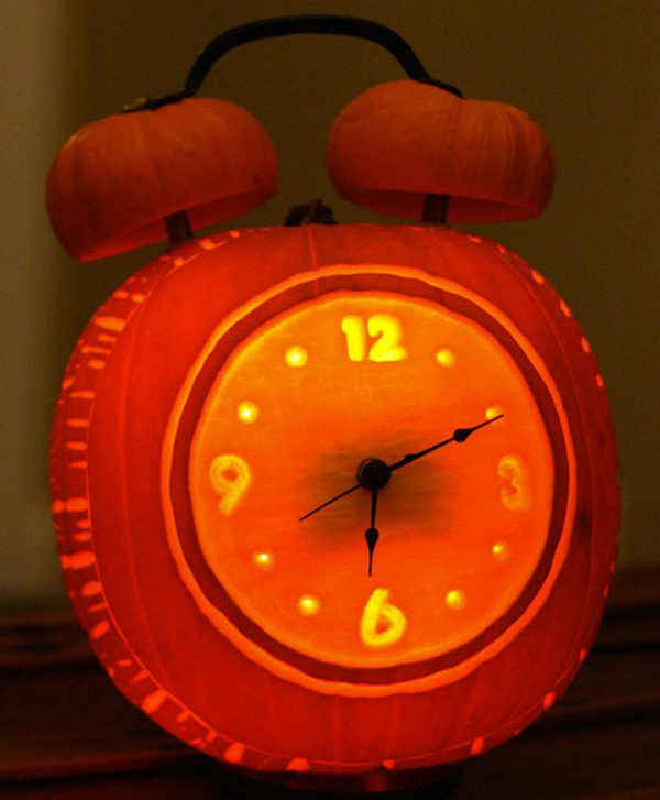 Clock Pumpkin.