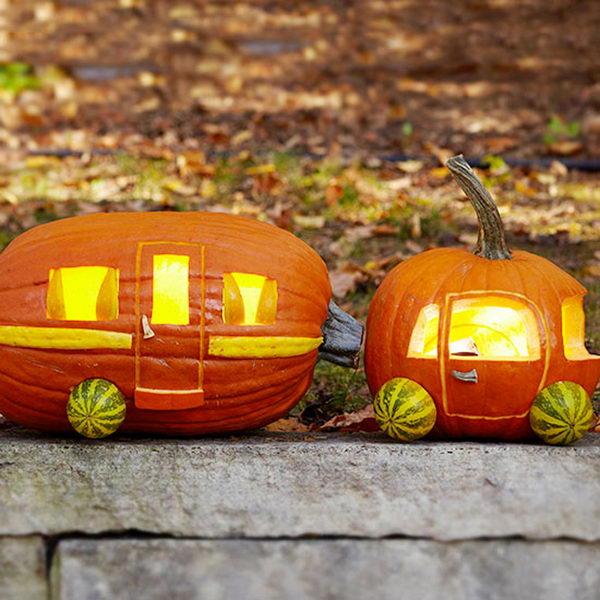 Caravan Pumpkin.
