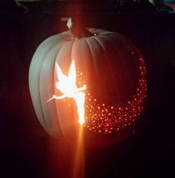 Tinkerbell Pumpkin.