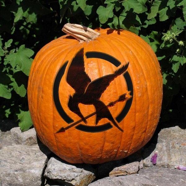 Mockingjay Pumpkin.