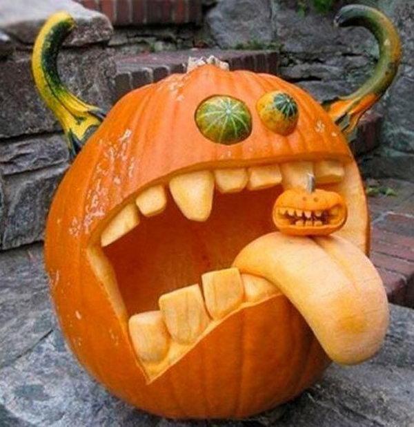 Devil Pumpkin.