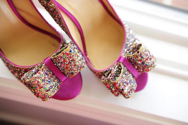 10  creative rainbow colored shoes