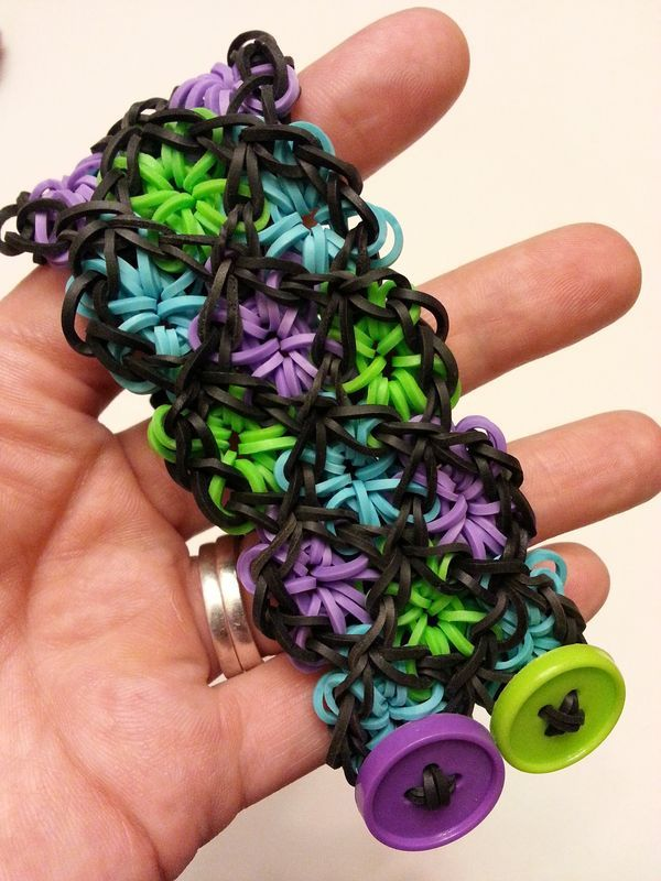 Stained Glass Rainbow Loom Bracelet Tutorial. Rainbow Loom is one of the top gifts for kids, and every kid seems to have at least one piece of rubber band jewelry.