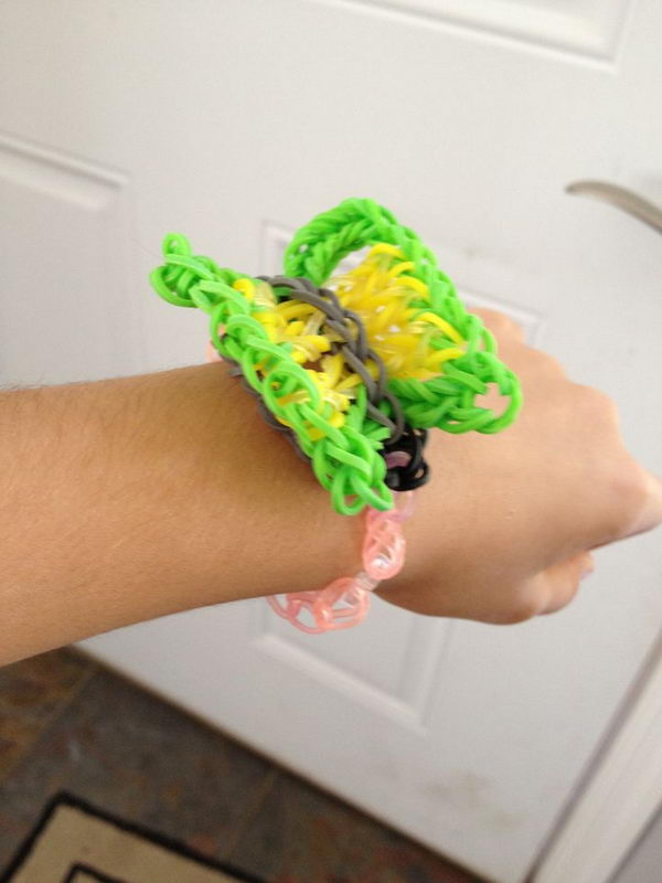 Rainbow Loom Butterfly. Rainbow Loom is one of the top gifts for kids, and every kid seems to have at least one piece of rubber band jewelry.
