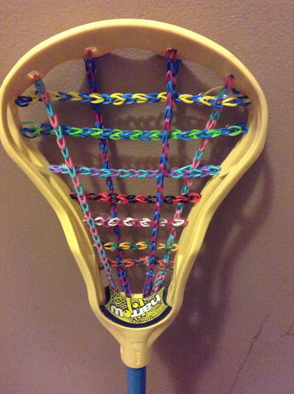 Lacrosse Stick. Rainbow Loom is a plastic loom used to weave colorful rubber bands into bracelets and charms. It is one of the top gifts for kids.