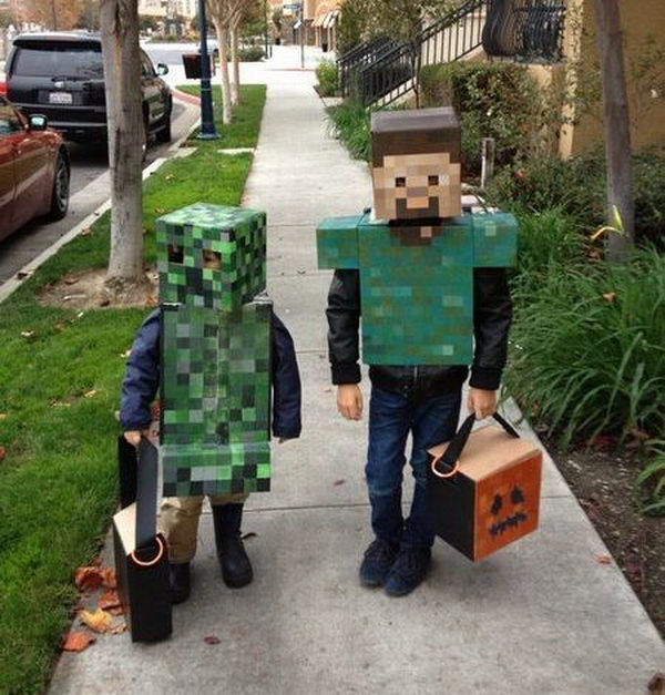 Handmade Minecraft Costumes. Super Cool Character Costumes. With so many cool costumes to choose from, you have no trouble dressing up as your favorite sexy idol this Halloween.