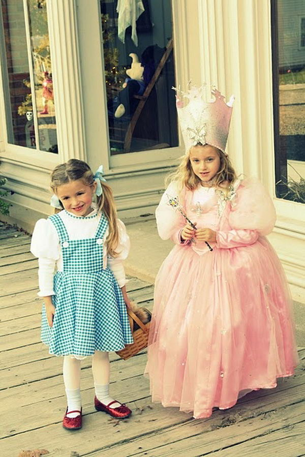 DIY Glinda the Good Witch and Dorothy. Super Cool Character Costumes. With so many cool costumes to choose from, you have no trouble dressing up as your favorite sexy idol this Halloween.