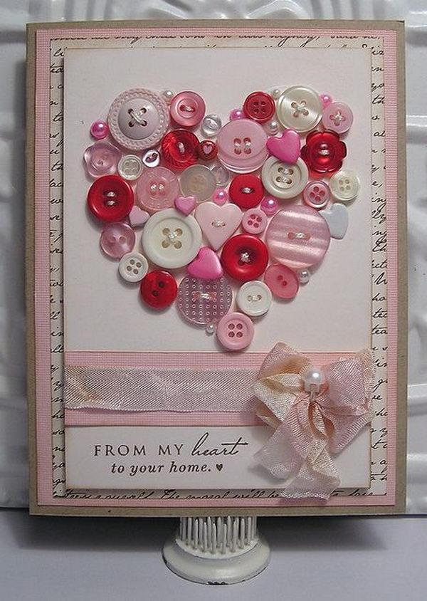 30 Creative Valentine Day Card Ideas Tutorials Hative – Valentine Day Card Idea