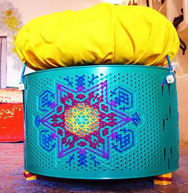 10 Awesome Washing Machine Drum Ideas Hative