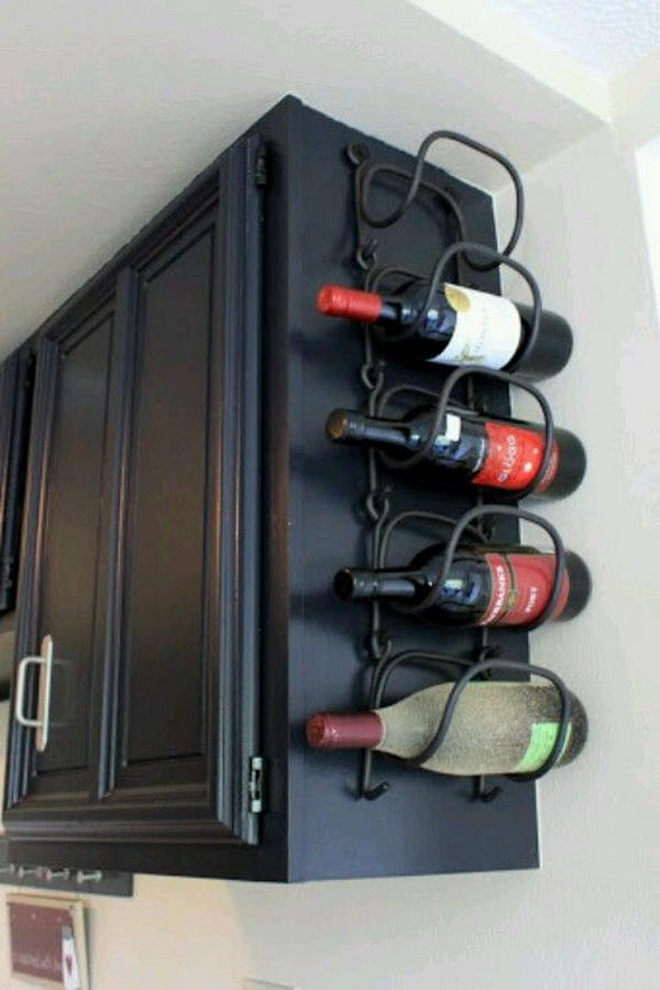 10 cool wine rack ideas hative - Small space wine racks design ...