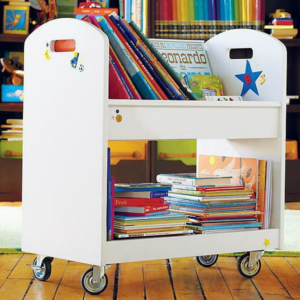 15 Creative Book Storage Ideas For Kids Hative