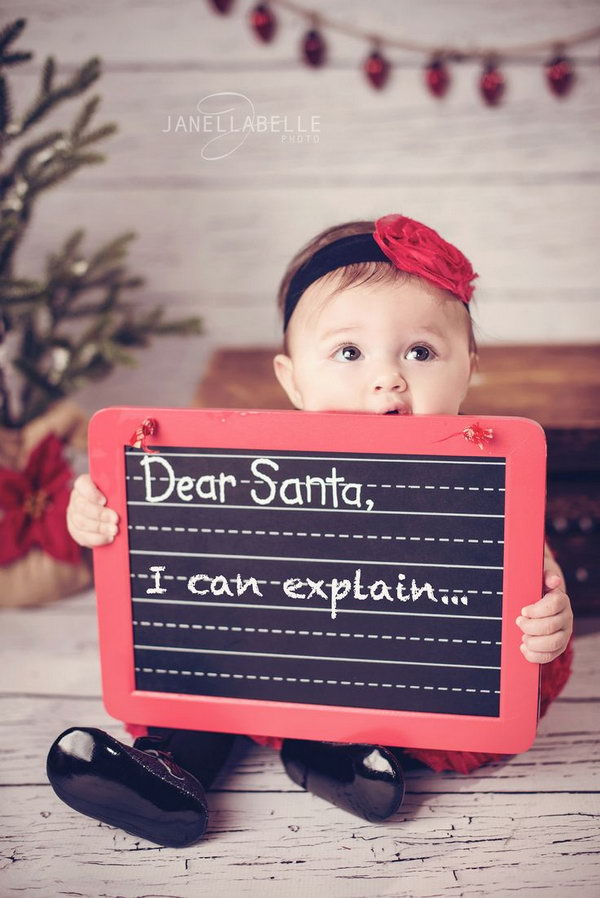 Dear Santa, I can explain.