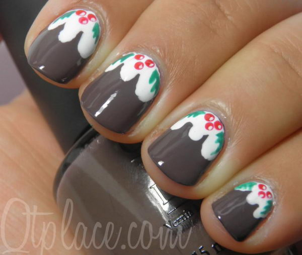 25 Cool Christmas Nail Designs Hative