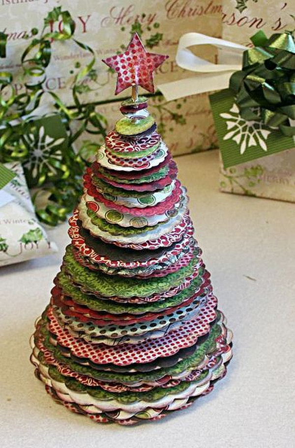 30 creative christmas tree decorating ideas hative Creative christmas trees to make
