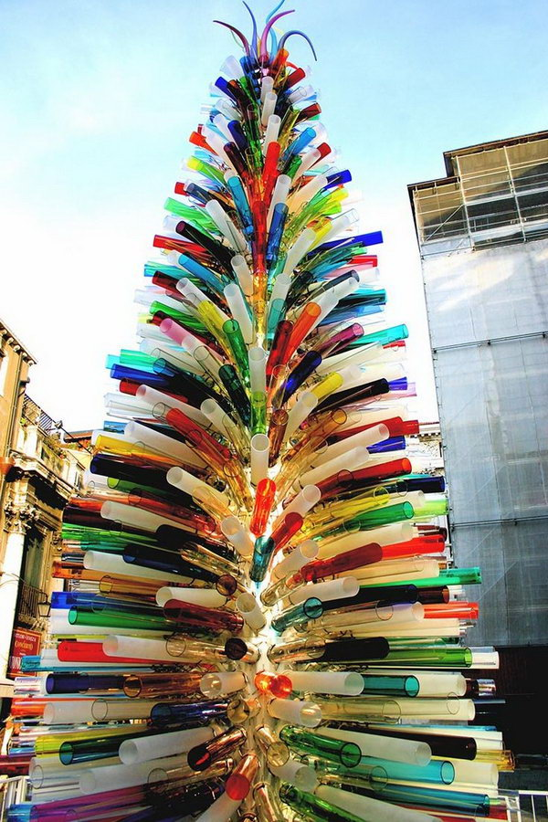 Murano Glass Christmas Tree