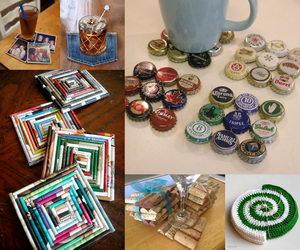 Coaster Ideas. Diy Coasters Wood Coaster Ideas Homemade Coaster ...