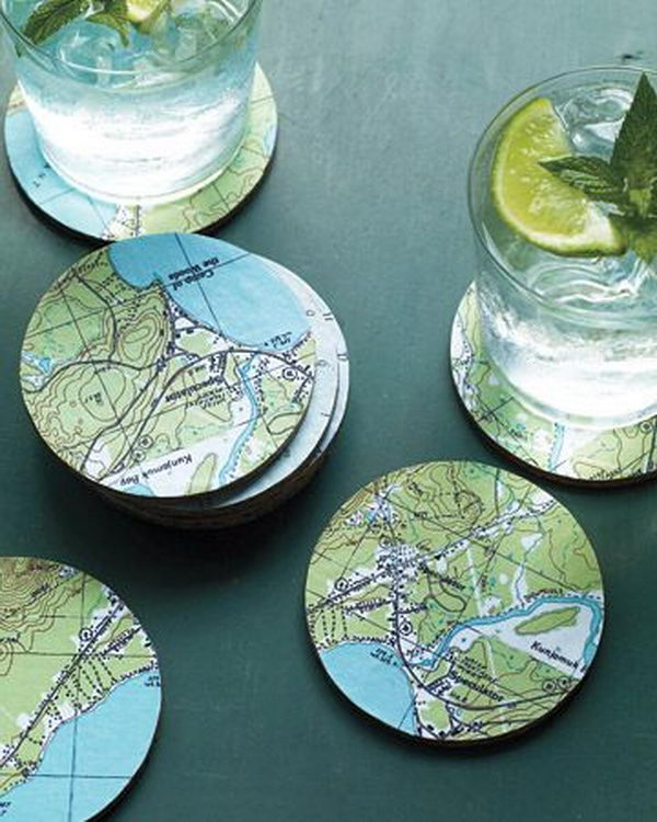 20 creative coaster ideas hative for Creative coasters