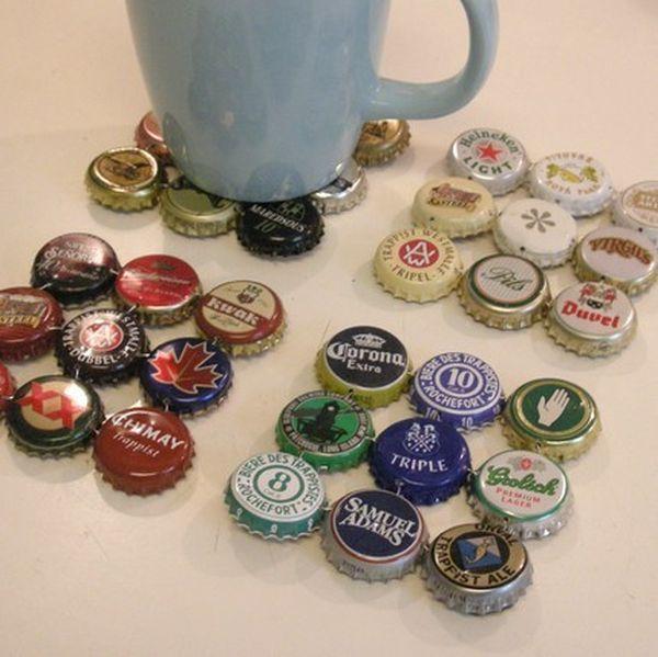 Bottle Caps Coasters.