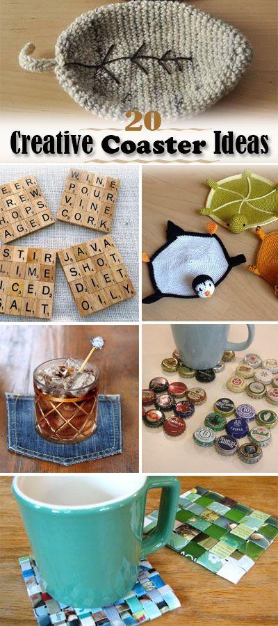 20 Creative Coaster Ideas Hative