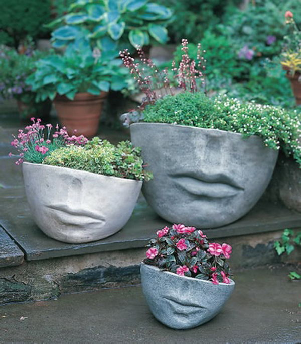 30 Unique Garden Design Ideas: 20 Fun And Creative Container Gardening Ideas