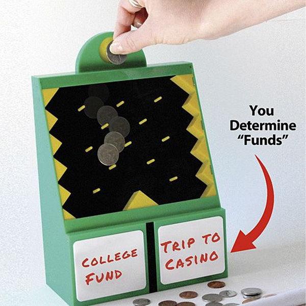 15 creative piggy banks make saving fun hative for Piggy bank ideas diy