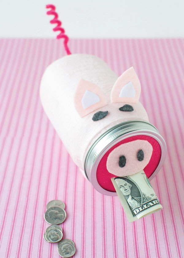 15 creative piggy banks make saving fun hative for How to make a coin bank