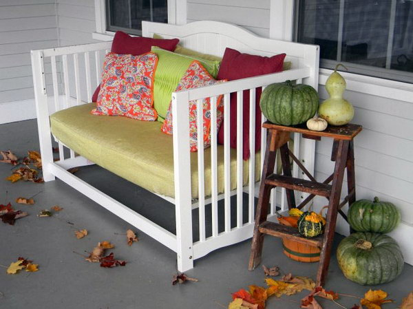 15 Creative Old Crib Repurpose Ideas - Hative