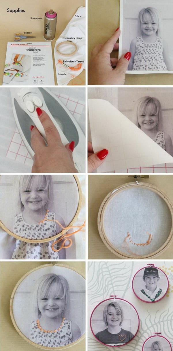 25 Creative DIY Photo Craft Ideas - Hative