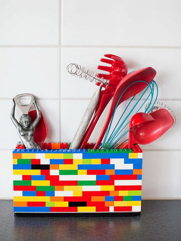 Cool DIY Storage Containers! Lego Storage Box. Smart, Well Organized,  Bright And Beautiful. The Right Storage