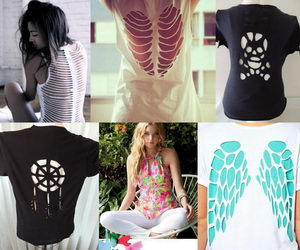 25 diy t shirt cutting ideas for girls hative - T Shirt Cutting Designs Ideas
