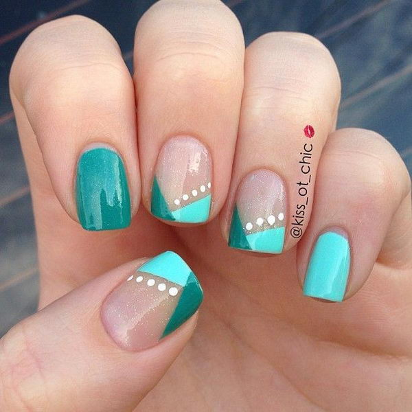 30 easy nail designs for beginners hative - Easy nail design ideas to do at home ...