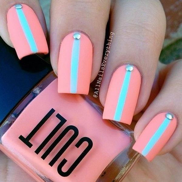 30 Easy Nail Designs For Beginners Hative