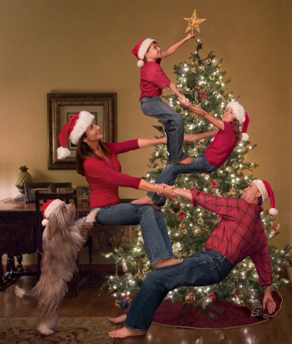 20 Fun And Creative Family Photo Ideas