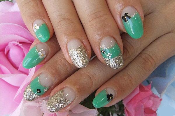 Green Nail Designs Hative