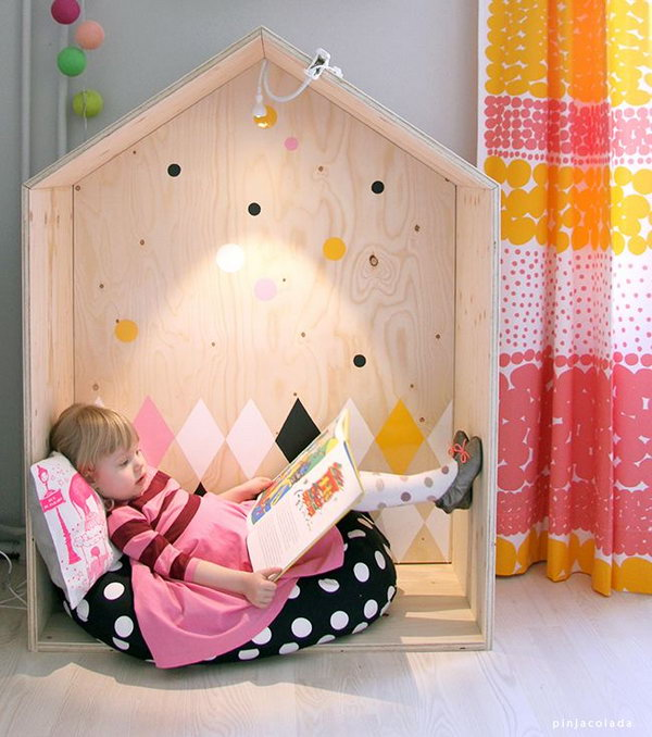10+ Cool Indoor Playhouse Ideas For Kids