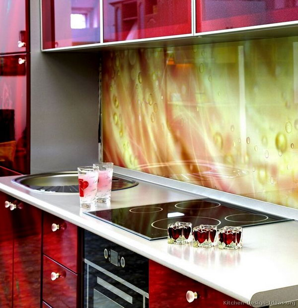 10+ Creative Kitchen Backsplash Ideas - Hative